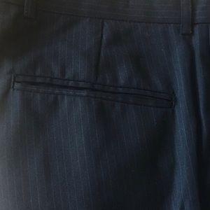 Wideleg Pinstripe Dress Pants 32L